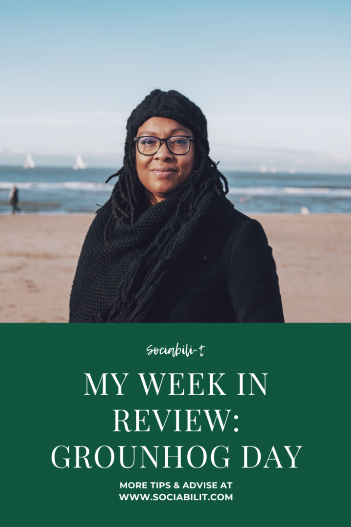 WEEK IN REVIEW: EEN LES IN TIME MANAGEMENT